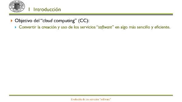 Evolución de los servicios software