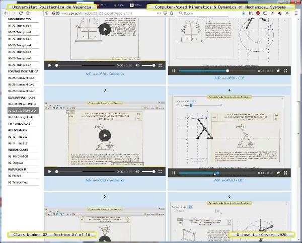 Mecánica y Teoría de Mecanismos ¿ 2020 ¿ MM - Clase 02 ¿ Tramo 07 de 10