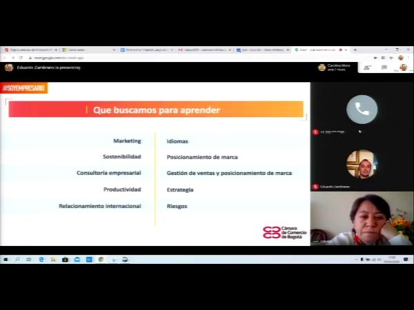 SPOC Gestión de MOOC. Cámara de comercio de Bogotá. Formación habilidades blandas