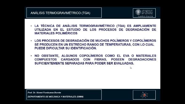 EVALUACIÓN DE GRÁFICAS DE TERMOGRAVIMETRÍA MEDIANTE SOFTWARE STARe METTLER TOLEDO