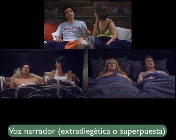 superposicion diegética audiovisual