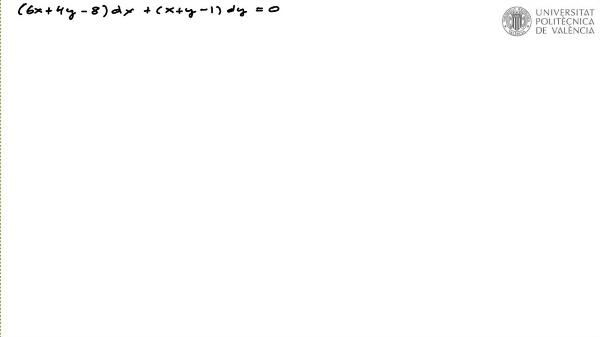 Ecuación diferencial reducible a separable