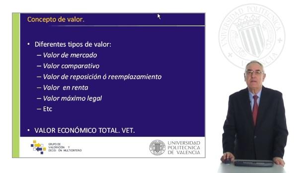 Valor Económico Total. VET
