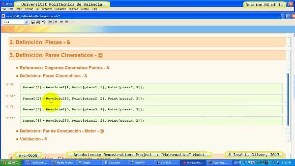 Solución Cinemática Simbólica a_c_0658 con Mathematica -B- 04 de 13