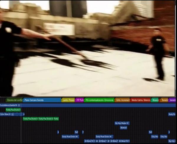 Creación de una secuencia con Apple Loops