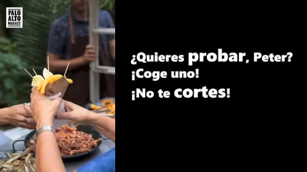 MOOC español para viajeros. Nos mezclamos con la gente local, comidas