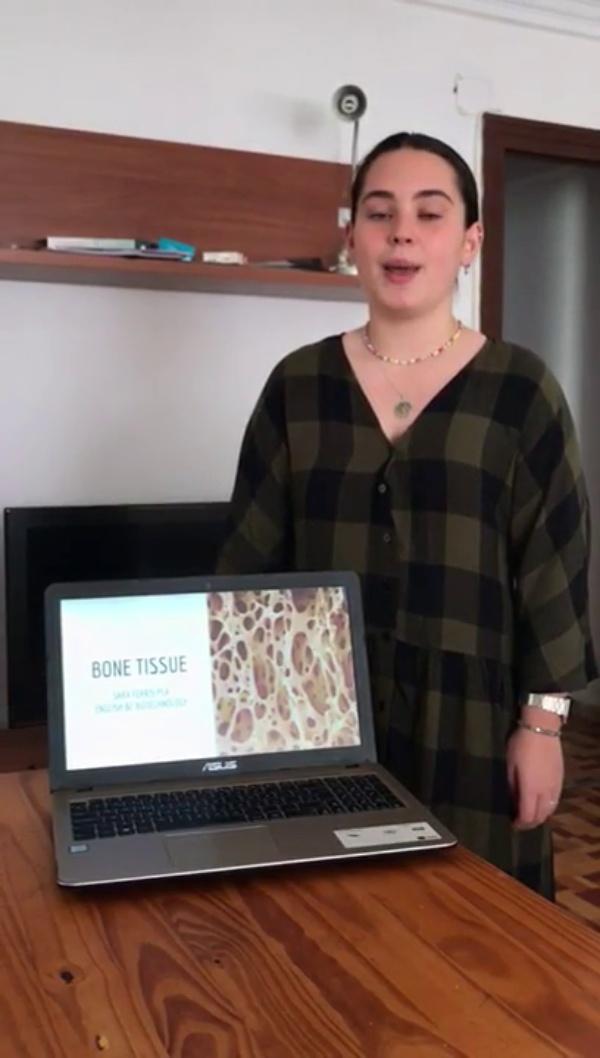 Bone tissue presentation