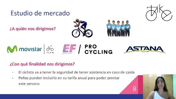 bike - Dispositivo de alarma y locacalización en caso de accidente ciclista