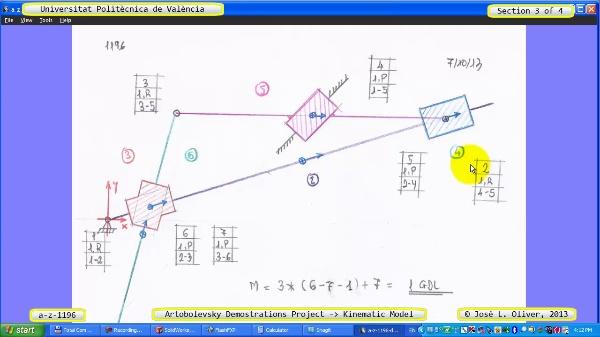 Simulación Mecanismo a_z_1196 con Cosmos Motion - 3 de 4