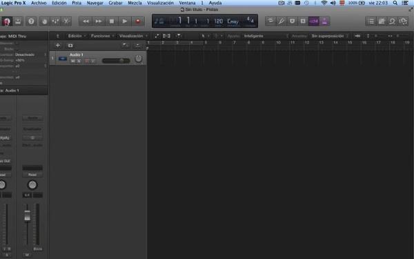 Tutorial Logic Pro X 7.6 Tempo y altura: edición con flex