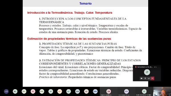 Termodinámica GIE clase 1