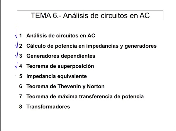 Teoría de Circuitos 1. Lección 6. 8-1 Transformador ideal. Relación de transformación