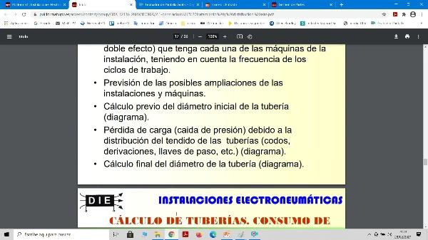 IENM - 2.4 Cálculo tuberías