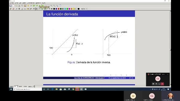Matemáticas 1 GIOI grupo A  Clase 17
