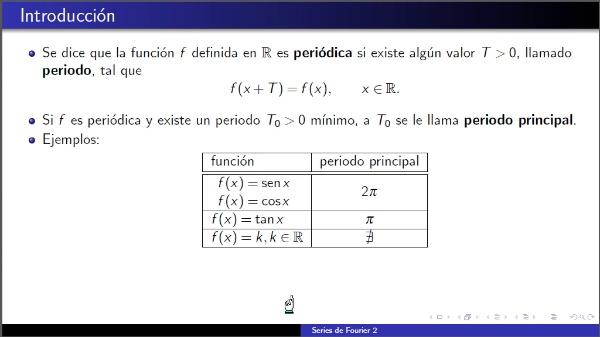 Aproximación por series de Fourier