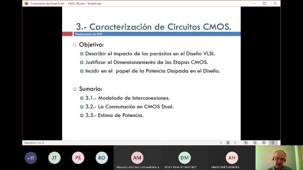 Fundamentos VLSI: Tema III: Caracterización de Circuitos CMOS