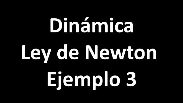 Dinámica. Ley de Newton. Ejemplo 3 C