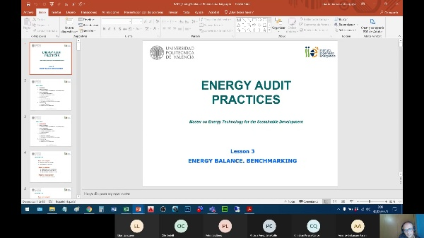 Energy Audit Practices - Session 03 Optional