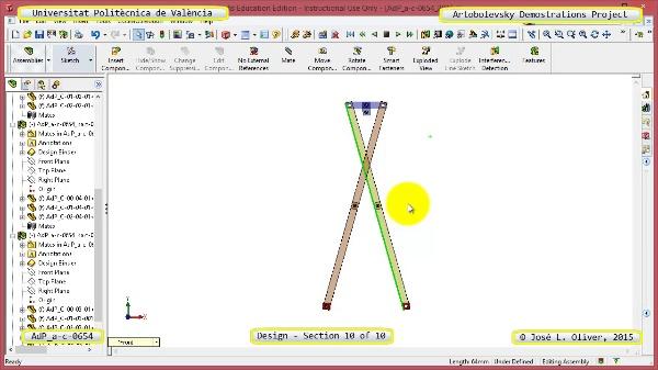 Creación Virtual Mecanismo a-c-0654 con Solidworks - 10 de 10