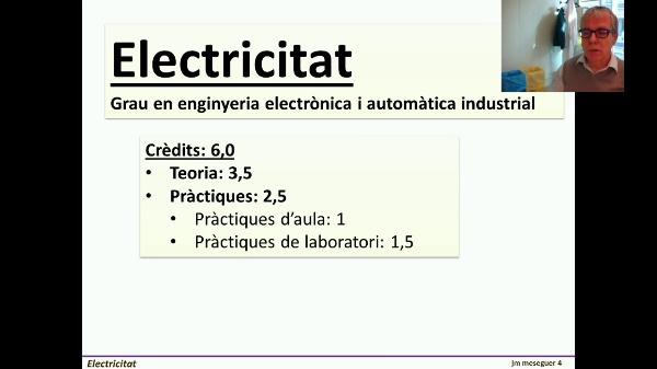 Presentación de Electricidad