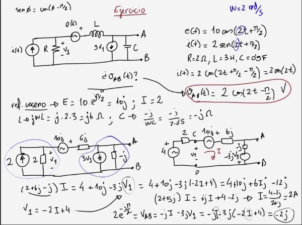Teoría de Circuitos 1. Lección 6. 3-3 Resumen de generadores dependientes