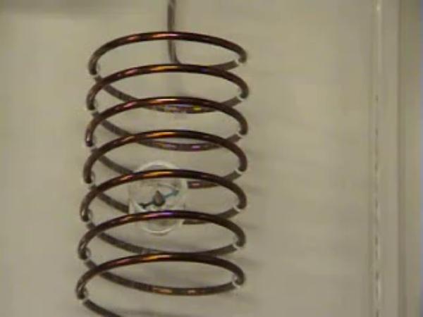Campo magnético creado por una bobina
