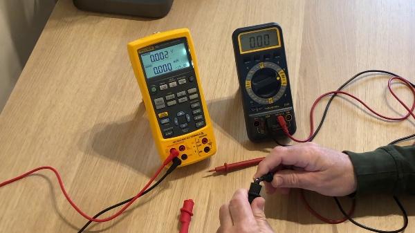 Calibración de un amperímetro