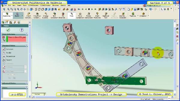 Creación Virtual Mecanismo a_z_0721 con Solidworks - 4 de 5