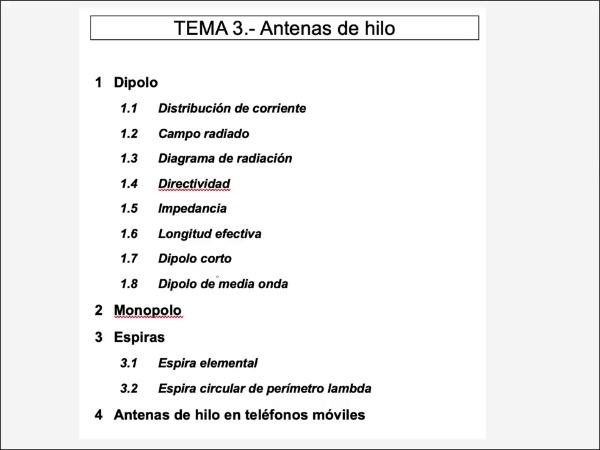 3.3.2.- Espiras: Espira de perímetro lambda