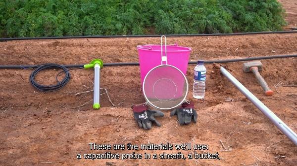TBAgrosensors - eSGarden - Installing a moisture agro-sensor probe