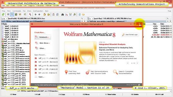Simulación Mecanismo a-z-1133 con Mechanica - 11 de 29