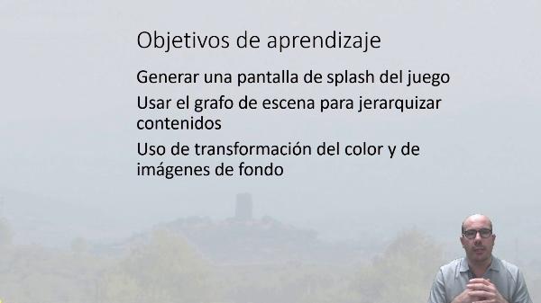 Generando una ventana de presentación en Unity
