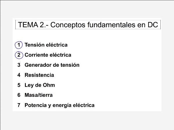 2.5.1.- Ley de Ohm