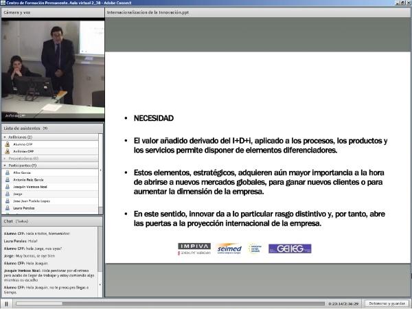 Ponencia; Internacionalización de la Innovación - Rafael Escamilla (1/2)