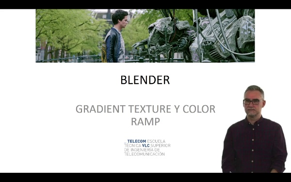 Blender: gradient texture y color ramp