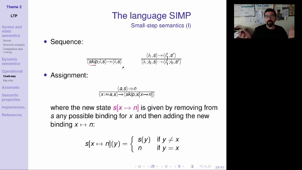LTP - Unit 2 - Small-step operational semantics