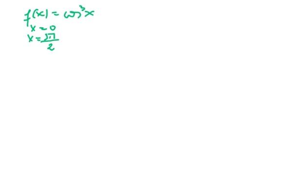 Ejercicio de área encerrada por una curva y el eje OX
