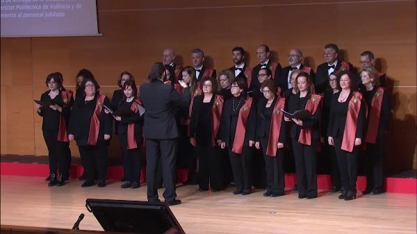 Acto Académico de entrega de la Medalla XXV años de la Universitat Politècnica de València y de reconocimiento al personal jubilado