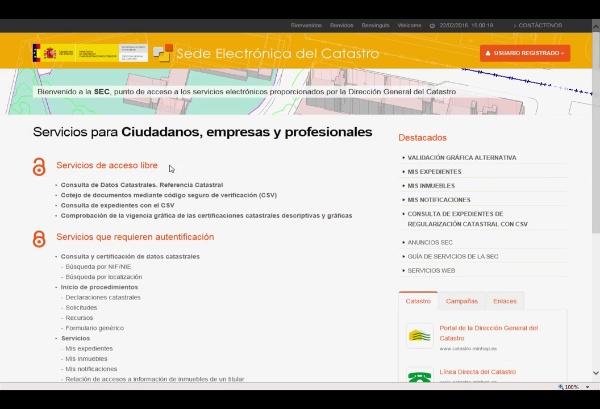 - Video1: Descarga gratuita cartografía catastral de la Sede Electrónica del Catastro: formato shp (07:29')