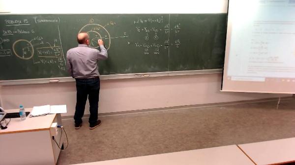 Física 1. Lección 5. Problema 15