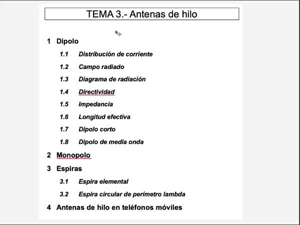 3.1.3.- Dipolo: diagrama de radiación