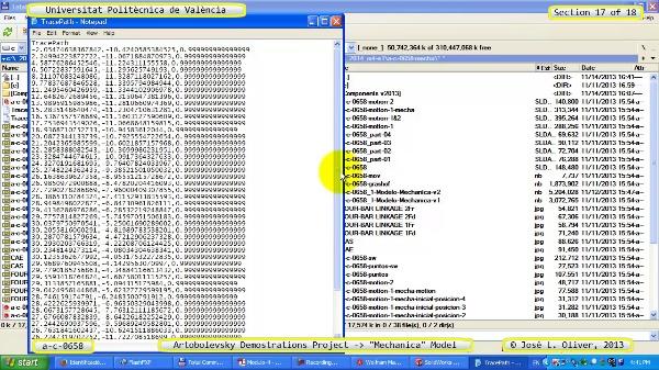 Simulación Mecanismo a_c_0658 con Mechanica - 17 de 18