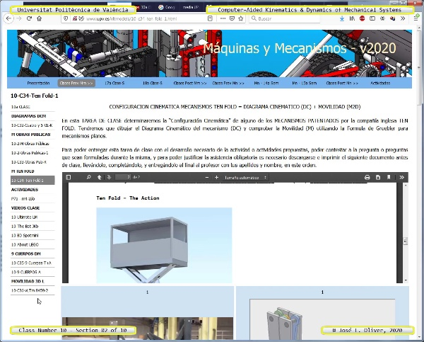 Mecánica y Teoría de Mecanismos ¿ 2020 ¿ MM - Clase 10 ¿ Tramo 02 de 10