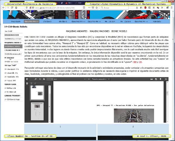 Mecánica y Teoría de Mecanismos ¿ 2020 ¿ MM - Clase 14 ¿ Tramo 05 de 10
