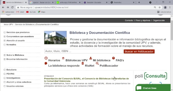 Repositorios de documentación científica