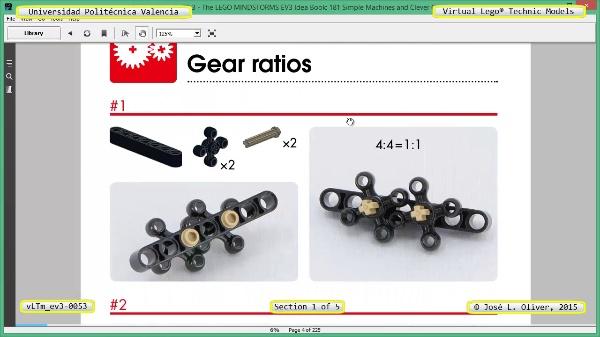 Creación Virtual Modelo Lego Technic - Isogawa ¿ ev3-0053 ¿ 1 de 5