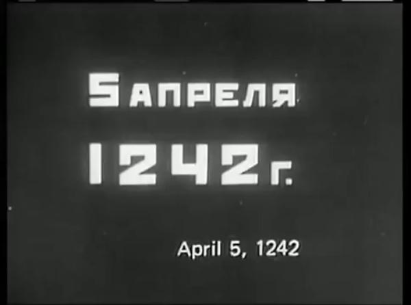 Alexandr Nevskii - Batalla sobre hielo