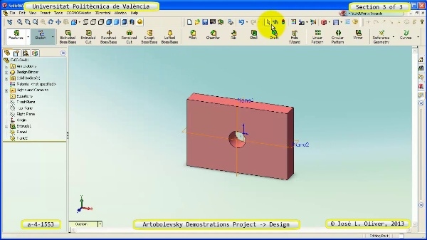 Creación Virtual Mecanismo a_4_1553 con Solidworks - 3 de 3