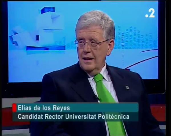 Entrevista Elías De los Reyes en Punt 2