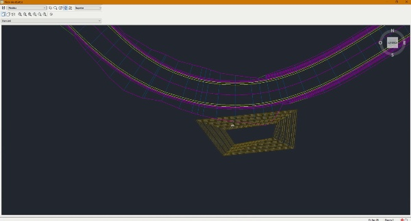 Objetivo de superficie en Civil 3D